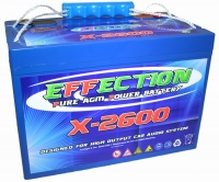 Batterie haute performance - 105 Ah - 5000 A